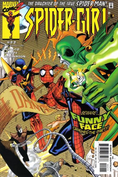 Cover for Spider-Girl (Marvel, 1998 series) #22