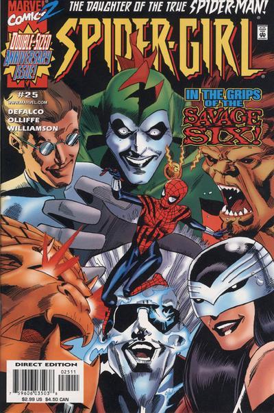 Cover for Spider-Girl (Marvel, 1998 series) #25