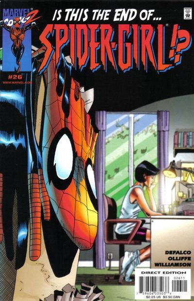 Cover for Spider-Girl (Marvel, 1998 series) #26