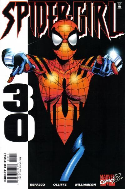 Cover for Spider-Girl (Marvel, 1998 series) #30