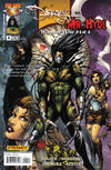 Cover for The Darkness vs. Mr. Hyde: Monster War (Image, 2005 series) #4 [Chin Cover]