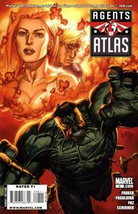Cover for Agents of Atlas (Marvel, 2009 series) #8