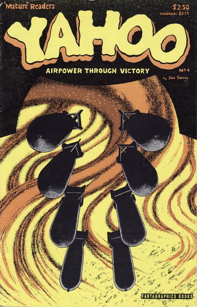 Cover for Yahoo (Fantagraphics, 1988 series) #4