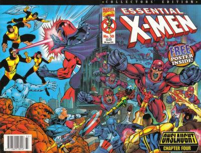 Cover for Essential X-Men (Panini UK, 1995 series) #50
