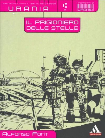 Cover for I Fumetti di Urania (Arnoldo Mondadori Editore, 2000 series) #2