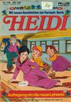 Cover for Heidi (Bastei Verlag, 1977 series) #116