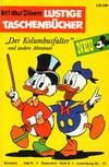 """Cover for Lustiges Taschenbuch (Egmont Ehapa, 1967 series) #1 - """"Der Kolumbusfalter"""" und andere Abenteuer"""