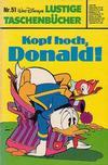 Cover for Lustiges Taschenbuch (Egmont Ehapa, 1967 series) #51 - Kopf hoch, Donald!