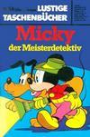 Cover for Lustiges Taschenbuch (Egmont Ehapa, 1967 series) #54 - Micky, der Meisterdetektiv