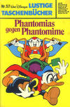 Cover for Lustiges Taschenbuch (Egmont Ehapa, 1967 series) #57 - Phantomias gegen Phantomime
