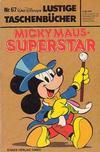 Cover for Lustiges Taschenbuch (Egmont Ehapa, 1967 series) #67 - Micky Maus - Superstar