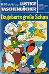 Cover for Lustiges Taschenbuch (Egmont Ehapa, 1967 series) #69 - Dagoberts große Schau