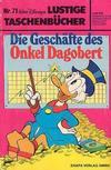 Cover for Lustiges Taschenbuch (Egmont Ehapa, 1967 series) #71 - Die Geschäfte des Onkel Dagobert  [1. Auflage]