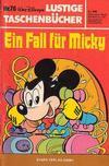 Cover for Lustiges Taschenbuch (Egmont Ehapa, 1967 series) #76 - Ein Fall für Micky