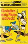 Cover for Lustiges Taschenbuch (Egmont Ehapa, 1967 series) #77 - Gestatten, mein Name ist Duck!