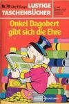 Cover for Lustiges Taschenbuch (Egmont Ehapa, 1967 series) #78 - Onkel Dagobert gibt sich die Ehre