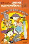 Cover for Lustiges Taschenbuch (Egmont Ehapa, 1967 series) #81 - Donald im Rampenlicht  [6,20 DM]