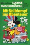 Cover for Lustiges Taschenbuch (Egmont Ehapa, 1967 series) #84 - Mit Volldampf ins Abenteuer