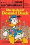 Cover for Lustiges Taschenbuch (Egmont Ehapa, 1967 series) #85 - Ein Hoch auf Donald Duck