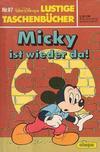 Cover for Lustiges Taschenbuch (Egmont Ehapa, 1967 series) #87 - Micky ist wieder da!