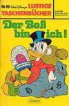 Cover for Lustiges Taschenbuch (Egmont Ehapa, 1967 series) #89 - Der Boß bin ich!