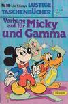 Cover for Lustiges Taschenbuch (Egmont Ehapa, 1967 series) #98 - Vorhang auf für Micky und Gamma
