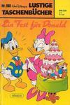 Cover for Lustiges Taschenbuch (Egmont Ehapa, 1967 series) #100 - Ein Fest für Donald [1. Auflage]