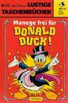 Cover for Lustiges Taschenbuch (Egmont Ehapa, 1967 series) #113 - Manege frei für Donald Duck!
