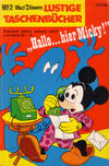 "Cover for Lustiges Taschenbuch (Egmont Ehapa, 1967 series) #2 - ""Hallo... Hier Micky!"""