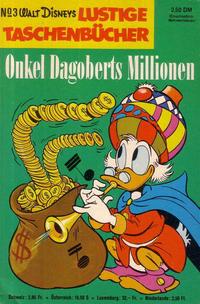 Cover Thumbnail for Lustiges Taschenbuch (Egmont Ehapa, 1967 series) #3 - Onkel Dagoberts Millionen