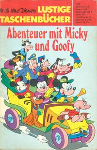 Cover Thumbnail for Lustiges Taschenbuch (Egmont Ehapa, 1967 series) #15 - Abenteuer mit Micky und Goofy