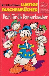 Cover Thumbnail for Lustiges Taschenbuch (Egmont Ehapa, 1967 series) #19 - Pech für die Panzerknacker
