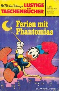 Cover Thumbnail for Lustiges Taschenbuch (Egmont Ehapa, 1967 series) #75 - Ferien mit Phantomias