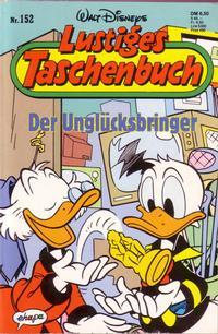 Cover Thumbnail for Lustiges Taschenbuch (Egmont Ehapa, 1967 series) #152 - Der Unglücksbringer