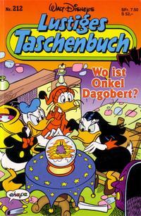 Cover Thumbnail for Lustiges Taschenbuch (Egmont Ehapa, 1967 series) #212 - Wo ist Onkel Dagobert?