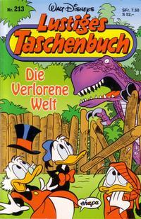 Cover Thumbnail for Lustiges Taschenbuch (Egmont Ehapa, 1967 series) #213 - Die Verlorene Welt
