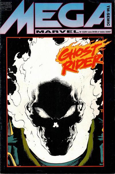 Cover for Mega Marvel (TM-Semic, 1993 series) #1/1994
