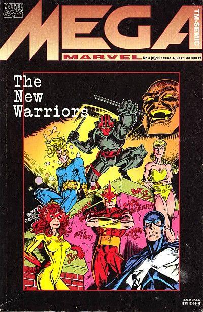 Cover for Mega Marvel (TM-Semic, 1993 series) #8 (3/1995)