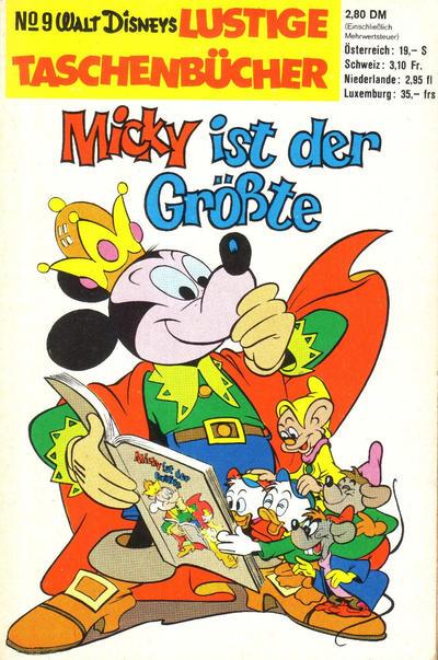 Cover for Lustiges Taschenbuch (Egmont Ehapa, 1967 series) #9 - Micky ist der Größte