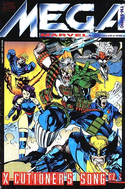 Cover for Mega Marvel (TM-Semic, 1993 series) #10 (1/1996)
