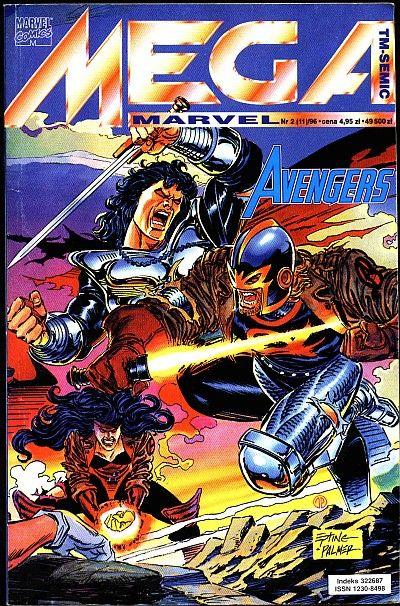 Cover for Mega Marvel (TM-Semic, 1993 series) #11 (2/1996)