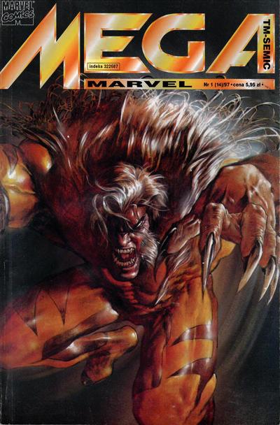 Cover for Mega Marvel (TM-Semic, 1993 series) #1/1997