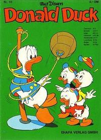Cover Thumbnail for Donald Duck (Egmont Ehapa, 1974 series) #10