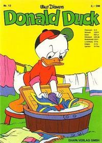 Cover Thumbnail for Donald Duck (Egmont Ehapa, 1974 series) #12