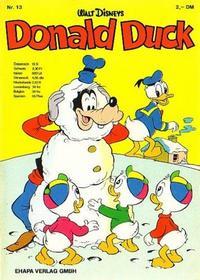 Cover Thumbnail for Donald Duck (Egmont Ehapa, 1974 series) #13