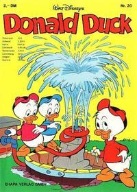 Cover Thumbnail for Donald Duck (Egmont Ehapa, 1974 series) #20