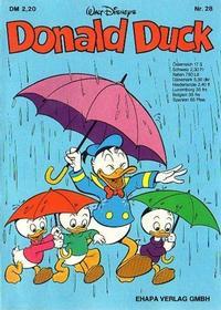 Cover Thumbnail for Donald Duck (Egmont Ehapa, 1974 series) #28