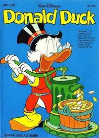 Cover Thumbnail for Donald Duck (Egmont Ehapa, 1974 series) #29