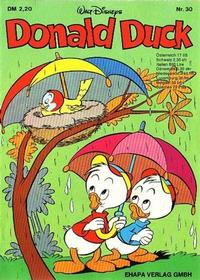 Cover Thumbnail for Donald Duck (Egmont Ehapa, 1974 series) #30