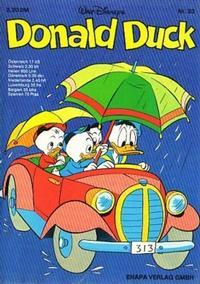 Cover Thumbnail for Donald Duck (Egmont Ehapa, 1974 series) #33
